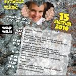 Plakat na II Kasperiańskie Dni Młodych w Częstochowie