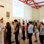 komunia święta pod dwiema postaciami w Sanktuarium