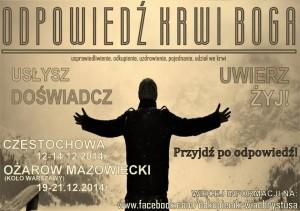 Odpowiedź Krwi Boga @ Dom św. Kaspra | Częstochowa | śląskie | Polska