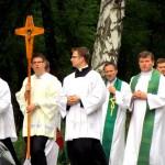 procesja na rozpoczecie Mszy św.