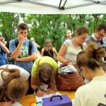 rejestracja uczestników spokania młodych