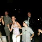 tańce na koncercie