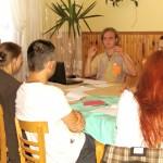 warsztaty liderów na spotkaniu młodych