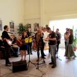 zespół muzyczny na IV Kasperiańskich Dniach młodych w Częstochowie