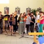 zespół muzyczny na spotkaniu młodych w Częstochowie